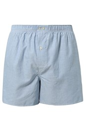 Gap Oxford Boxer Shorts Oxford Blue