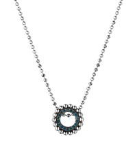 Links Of London Effervescence Blue Diamond Mini Necklace Female Silver