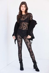 Out From Under Claire Lace Catsuit Black