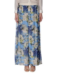 Mariella Rosati Skirts Long Skirts Women Azure