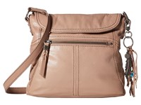 The Sak Esperato Flap Crossbody Mocha Cross Body Handbags Brown