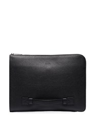 Hugo Boss Black Leather Document Pouch 60