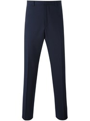 Gucci Straight Leg Trousers Blue
