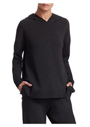 Majestic Filatures French Terry Hoodie Anthracite Chine