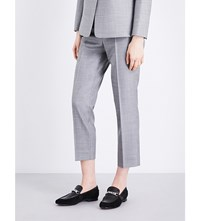 The Kooples Cropped Wool Trousers Gry01