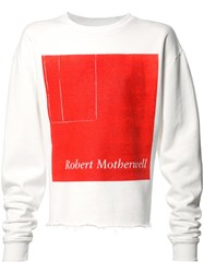Enfants Riches Deprimes Robert Motherwell Sweatshirt White