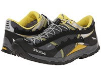 Salewa Speed Ascent Gtx Black Yellow Men's Shoes Gray