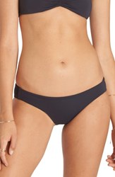 Billabong Women's Sol Searcher Lowrider Bikini Bottoms Black Sands