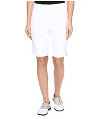 Puma Pounce Bermuda Shorts Bright White Women's Shorts