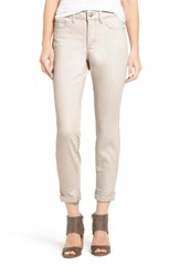 Nydj Women's Alina Convertible Ankle Jeans Clay