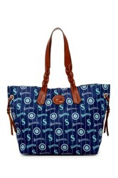 Dooney And Bourke Mariners Nylon Shopper Blue