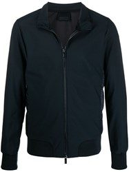 Rrd Down Stand Up Collar Jacket Blue