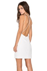 Endless Rose Open Back Dress White