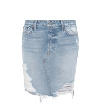 Grlfrnd Rhoda Denim Skirt Blue