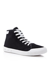 Rag And Bone Rag And Bone Standard Issue High Top Sneakers Black White
