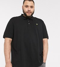 Lyle And Scott Polo In Black