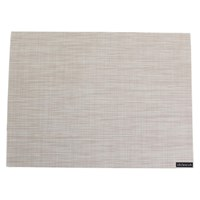 Chilewich Mini Basketweave Rectangle Placemat Parchment