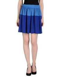 Ottod'ame Knee Length Skirts Azure