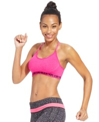 Ideology Pink Ribbon Sports Bra Only At Macy's Molten Pink
