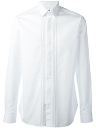 Lanvin Embroidered Shirt White
