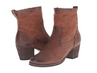 Trask Megan Brown Italian Washed Nubuck Women's Dress Boots