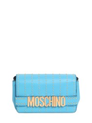 Moschino Small Studded Leather Bag