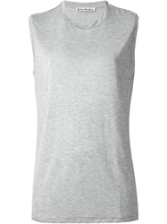 Acne Studios Sleeveless T Shirt Grey