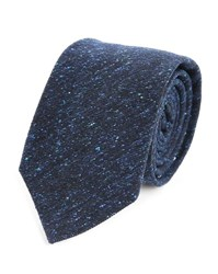 Gant Mottled Blue Donegal Classic Wool Tie