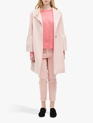 French Connection Platform Felt Bell Sleeve Coat Teagown