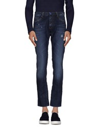 Paolo Pecora Denim Denim Trousers Men Blue
