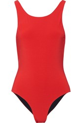 Rochelle Sara The Mae Swimsuit Red