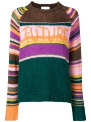Lala Berlin Future Knit Sweater Orange