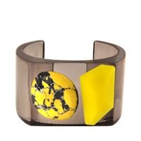 Stella Mccartney Plexi Stones Cuff Bangle