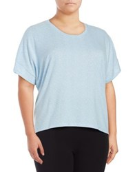 Roudelain Dolman Sleeve Hi Lo Sleep Tee Space Dye