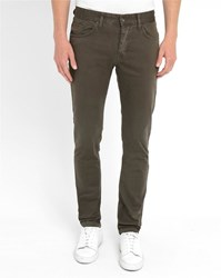 Minimum Charcoal David Pr Slim Fit Chinos Grey