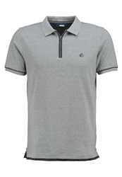 S.Oliver Polo Shirt Medium Grey Melange Mottled Grey