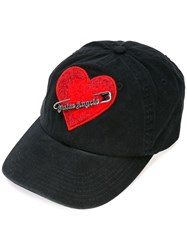 Palm Angels Safety Pin Cap Black