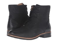 Sebago Jayne Mid Boot Black Leather Women's Boots