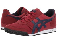 Onitsuka Tiger By Asics Ultimate 81 Burgundy Peacoat Classic Shoes Red