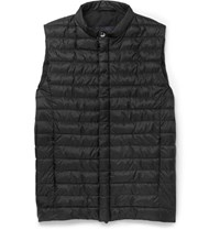 Herno Laminar Quilted Gore Tex Windstopper Gilet Black