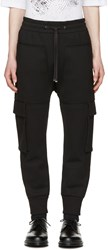 Helmut Lang Black Pocket Jogger Pants