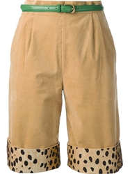 Labour Of Love Corduroy Shorts Nude And Neutrals