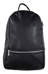 Neff 'Baller' Faux Leather Backpack Black