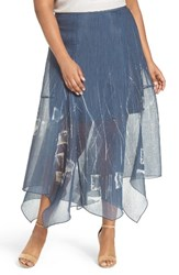 Nic Zoe Plus Size Women's Spring Tide Maxi Skirt