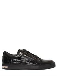 Botticelli Sport Limited Embossed Leather Zip Sneakers