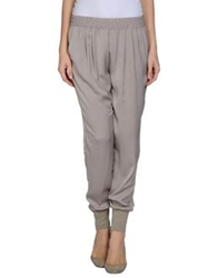Gold Hawk Casual Pants Grey