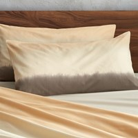 Cb2 Set Of Two Ombre King Shams