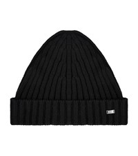 Boss Ribbed Cashmere Blend Beanie Unisex