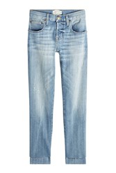 Current Elliott Staggered Straight Jeans