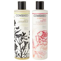 Cowshed Uplifting Bath And Shower Gel And Blissful Body Lotion Duo